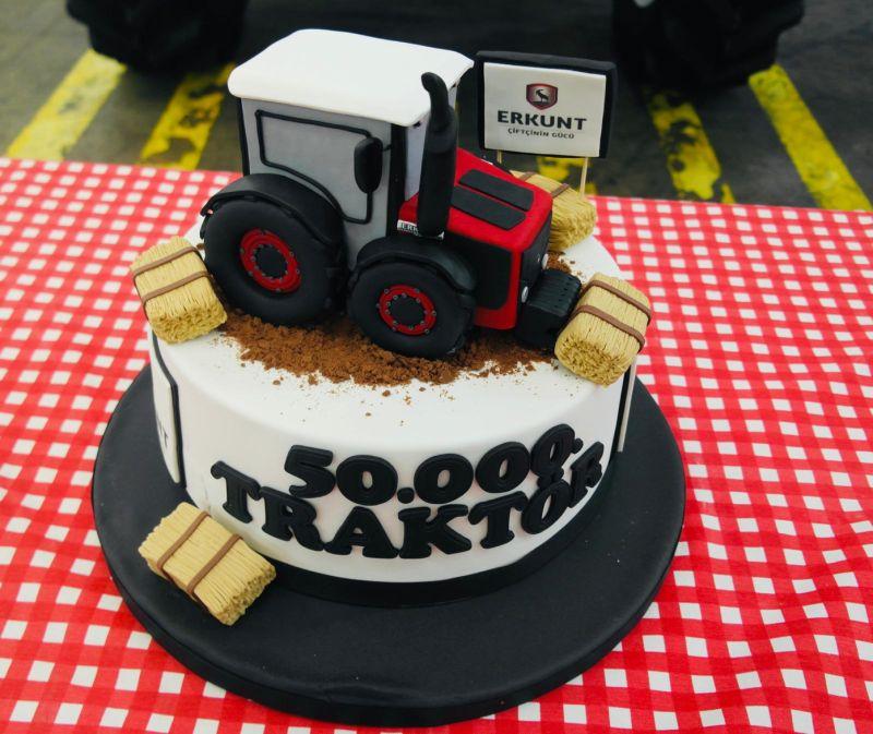 Türkiye'nin İlk Yerli Tasarım Traktör ü 50.000 Üretildi